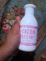The Cream Factory Bath Cream Milk and Acai Berry